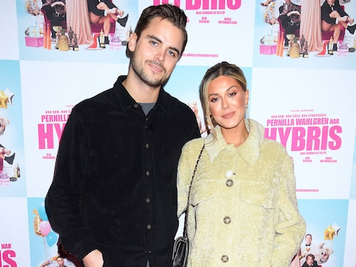 Bianca Ingrosso med pojkvännen Phillipe Cohen.