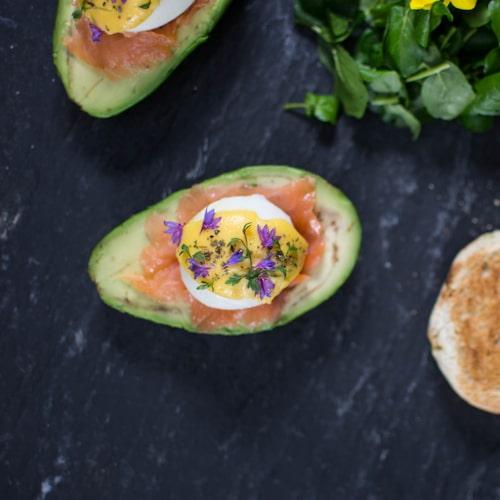 Allt som serveras på The Avocado Show är baserad på avokado.