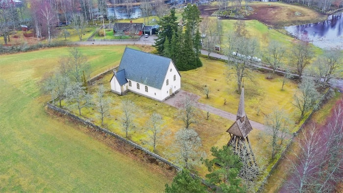 Flemmingelands kapell byggdes 1933 och är nu till salu.