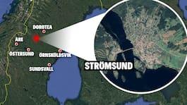 Skogsbrand utanför Strömsund nästan släckt