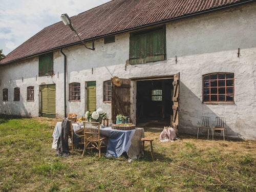 Gården i Flackarp utanför Kristianstad har anor från 1700-talet.