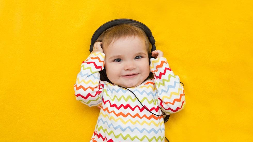 Forskare har designat en låt som gör bebisar glada.