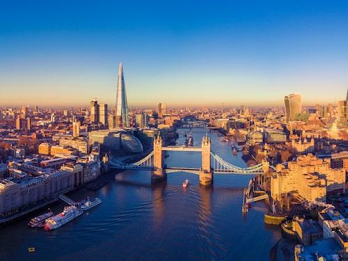 London är en härlig storstad att resa till med barn.