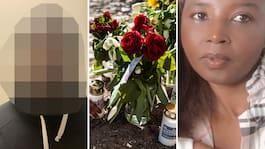Aline, 40, var på Ica med mördaren – före attacken