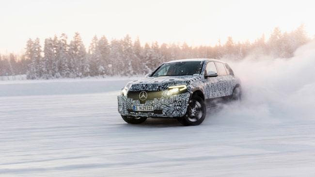 Låga temperaturer har varit ett problem för många elbilar, därför har Mercedes provkört i Arjeplog.
