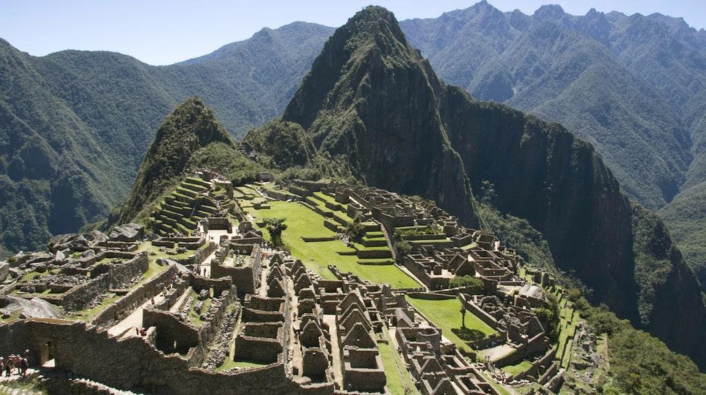 Även Machu Picchu står på menyn.