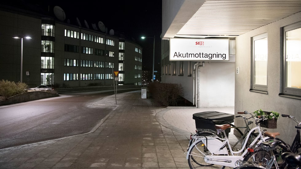 Södersjukhusets akutmottagning.