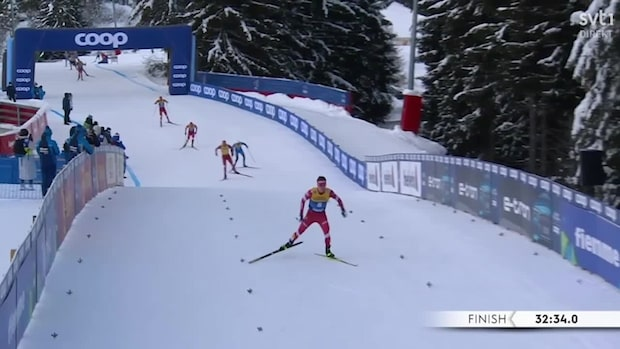 Spitsov var snabbast av alla – men vinnaren i Tour de ski blev Bolsjunov