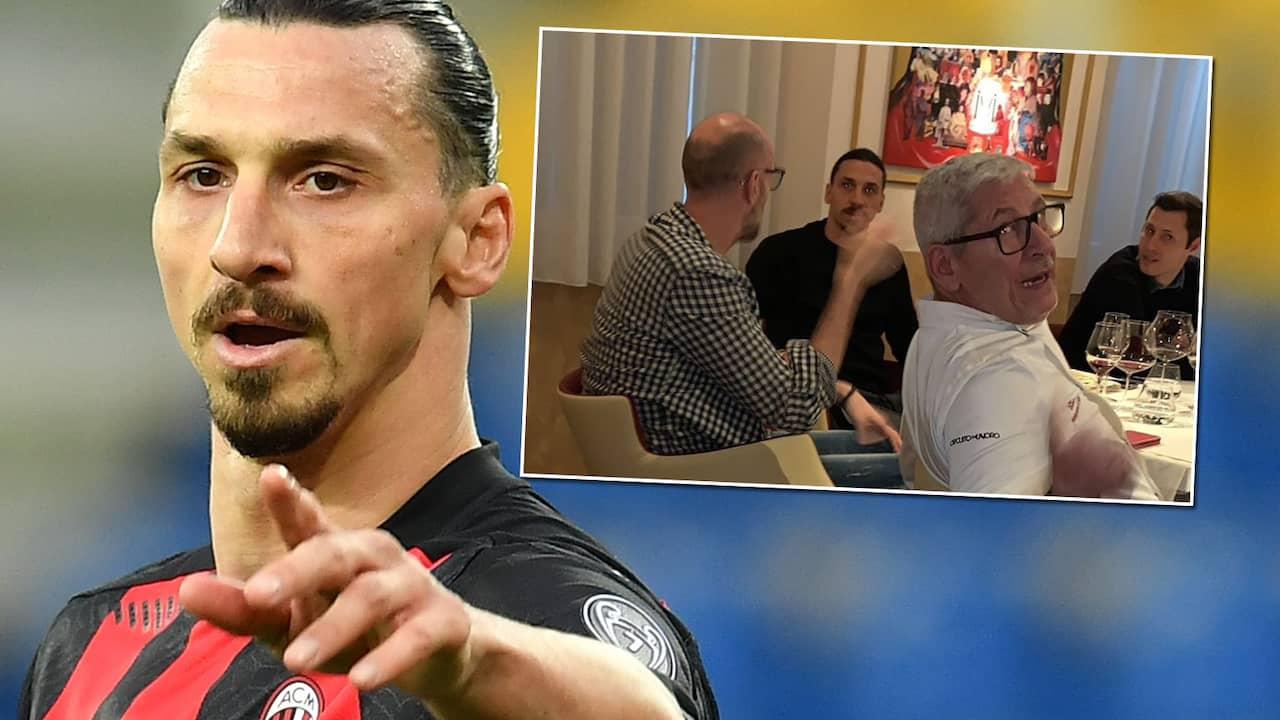 Zlatan anklagas efter besök på restaurang