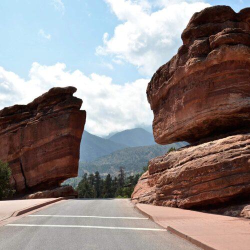 Strax utanför Colorado Springs i Colorado hittar du gudarnas trädgård.