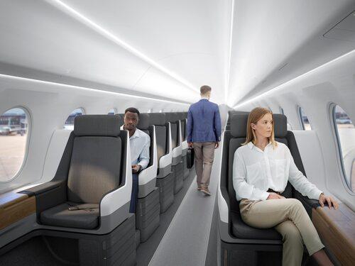 Overture kommer maximalt att kunna ta 88 passagerare som sitter en och en.