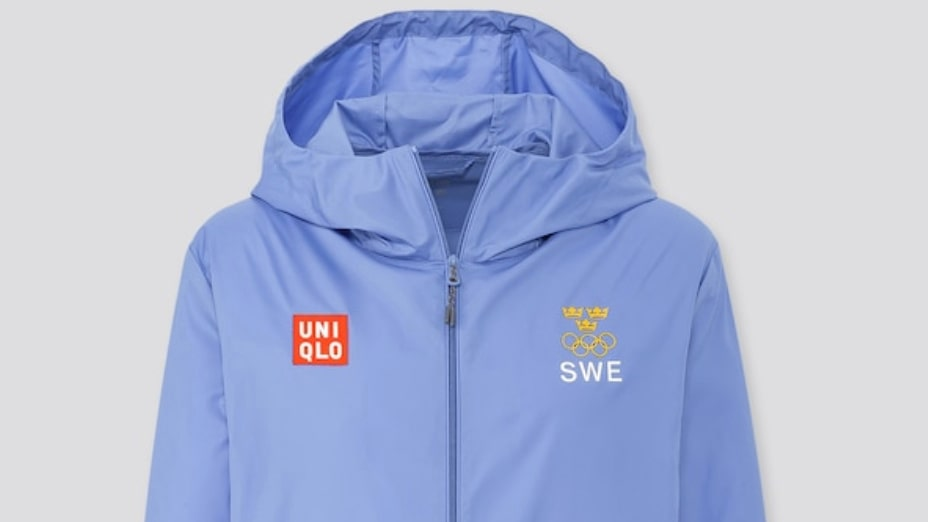 Uniqlo, Sweden olympic pocketable uv protection parka