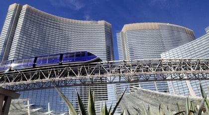 Las Vegas nya superresort Aria är en vräkig historia.