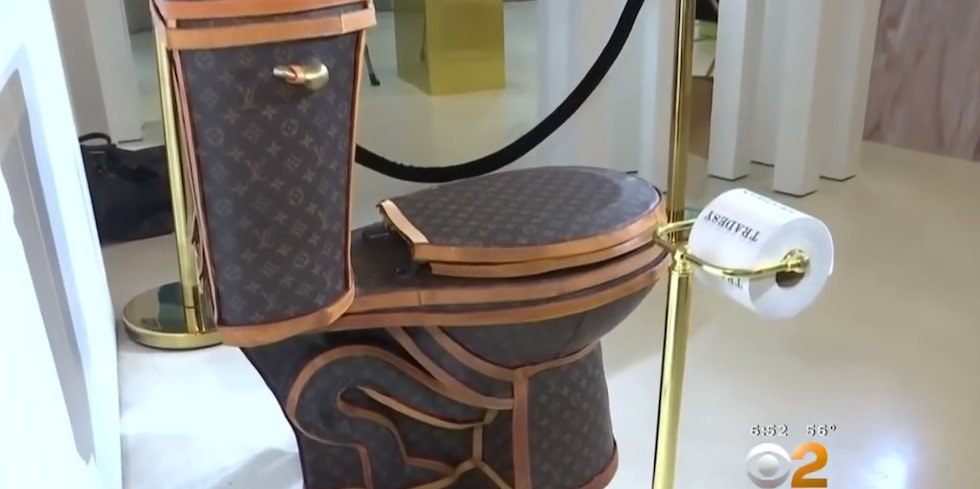 En unik toalett som du blir garanterat ensam om.
