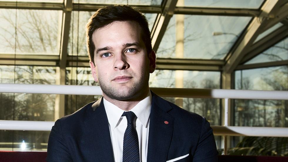 Sjukvårdsminister Gabriel Wikström.