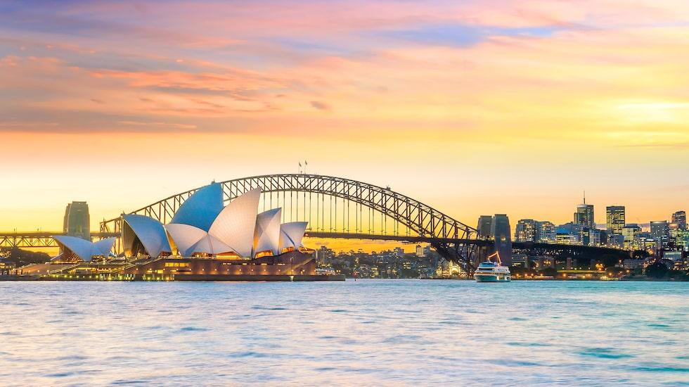 Sydneys operahus är också med på listan som Hilton Hotels and Resorts har presenterat.