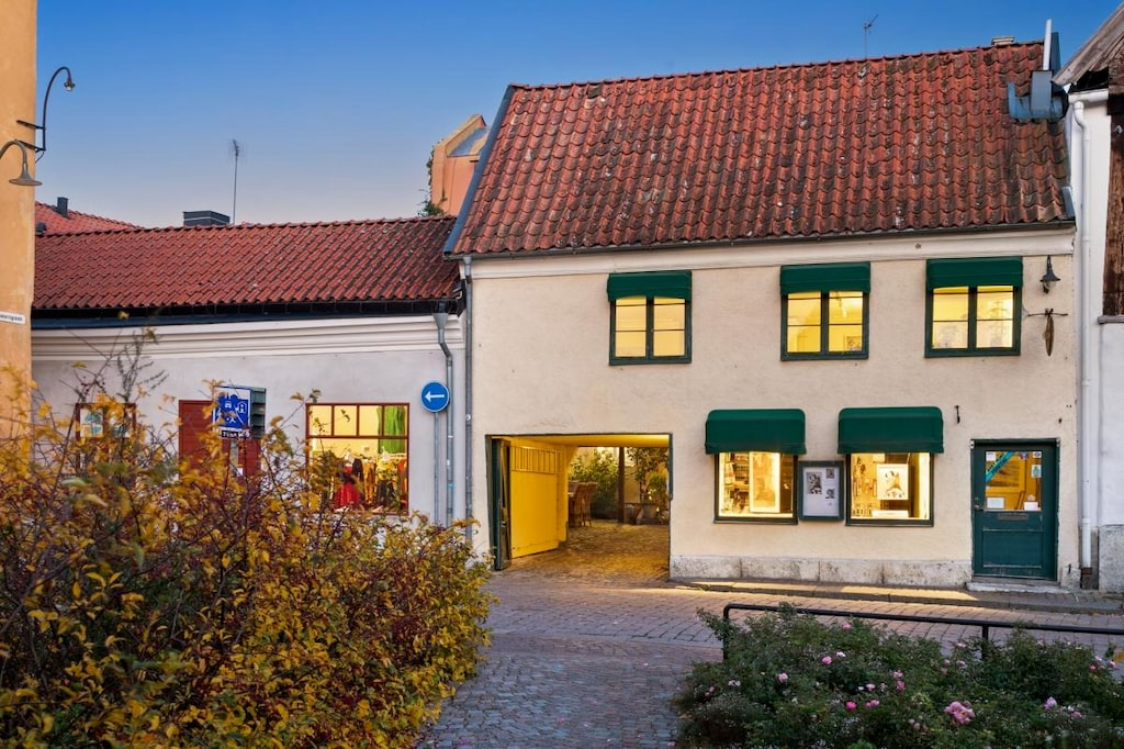 Nu säljs nämligen fastigheten som i dag är Ridelius Galleri och bostadshuset som hör till, med ett utgångspris på 18 miljoner kronor.