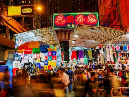 Marknaden bildades på 1920-talet för att erbjuda mat åt hungriga som besökt templet.