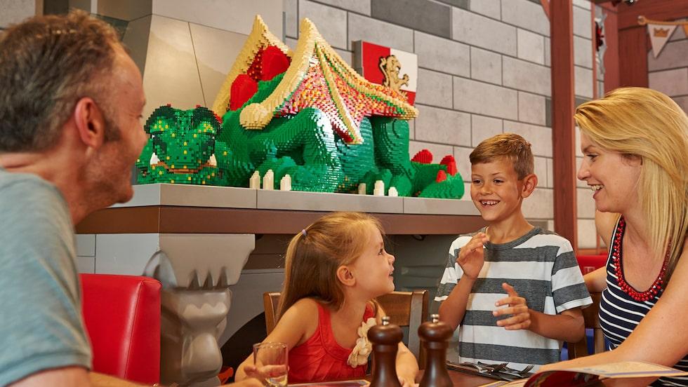Turneringsområdet på Legoland Windsor Resort.