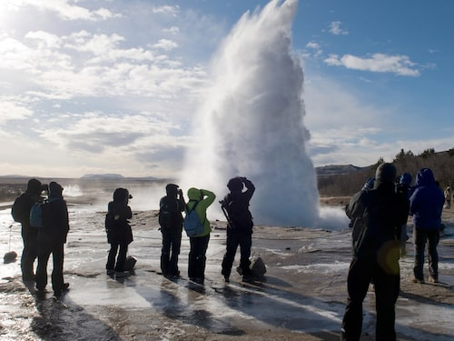 Förra året besökte över två miljoner turister Island – med 340 000 invånare.