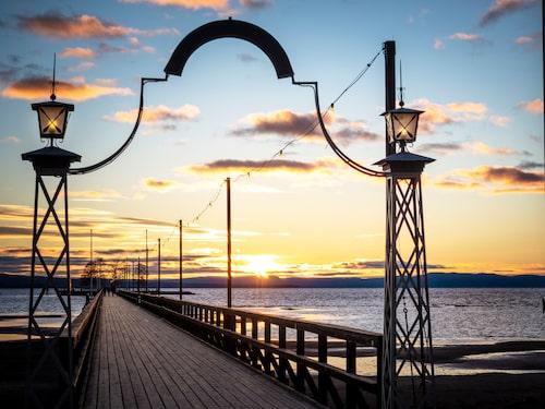 Långbryggan i Rättvik är troligtvis världens längsta insjöbrygga.