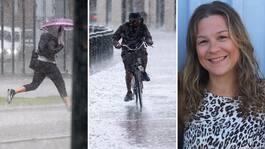 SMHI:s varning – för rejäla mängder regn