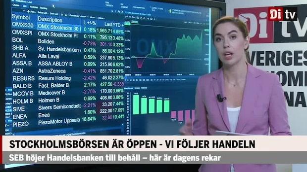 Marknadskoll: Försiktig öppning på Stockholmsbörsen
