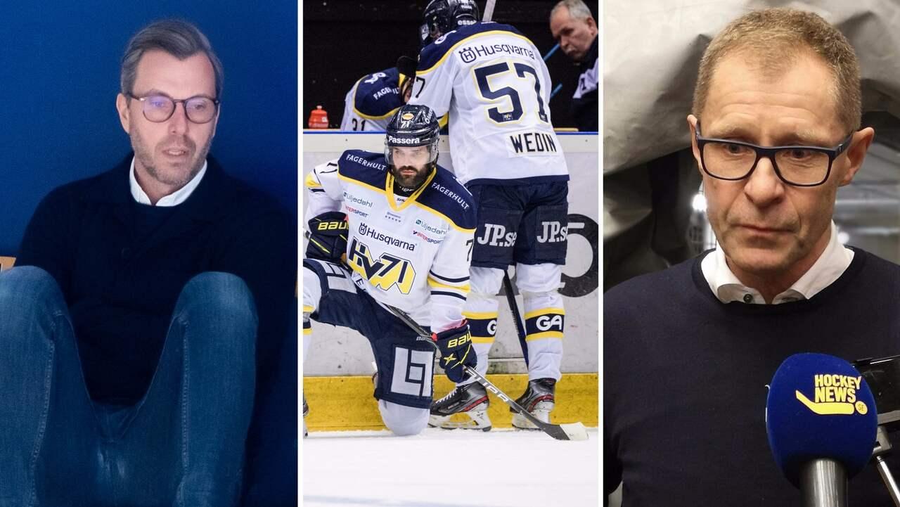 """Så ska HV71 förändras: """"Ingen som sitter säkert"""""""