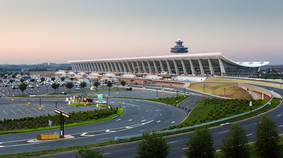 ...Dullesflygplatsen i amerikanska Washington DC.