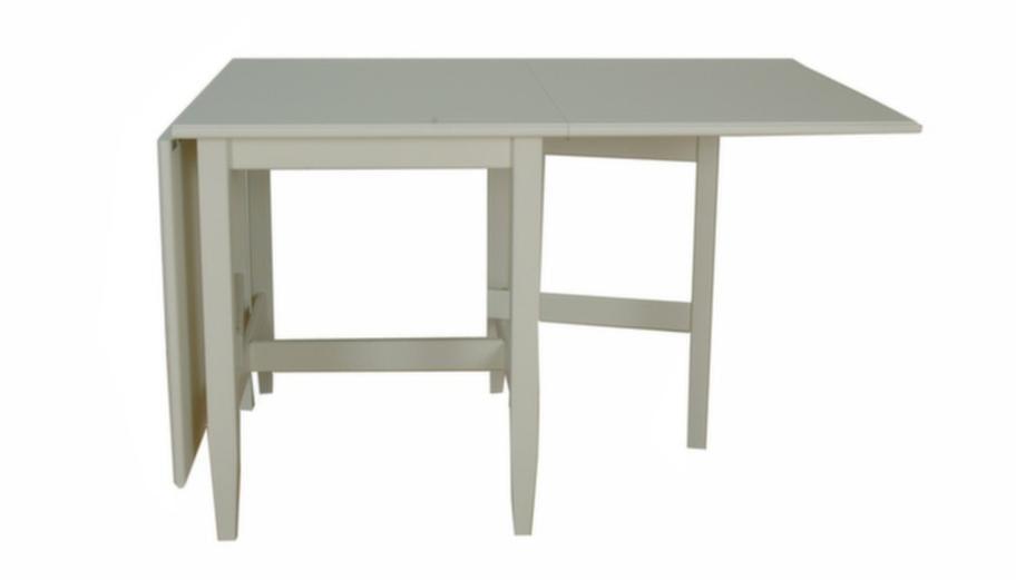 Budget<br>Lackat vitt<br>Nya slagbordet Hampton från Englesson i lackad MDF, 75 x 90 x 65 centimeter, 5 950 kronor, Länna möbler.