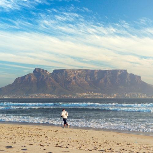 Taffelberget är Kapstadens mest berömda sevärdhet.