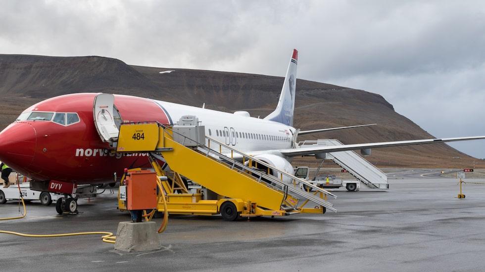 Flygplatsen på Longyearbyen på Svalbard är världens nordligaste.