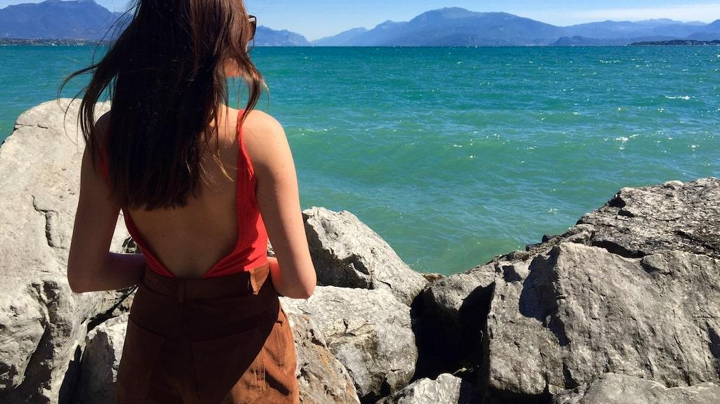 ...italienska Gardasjöns.