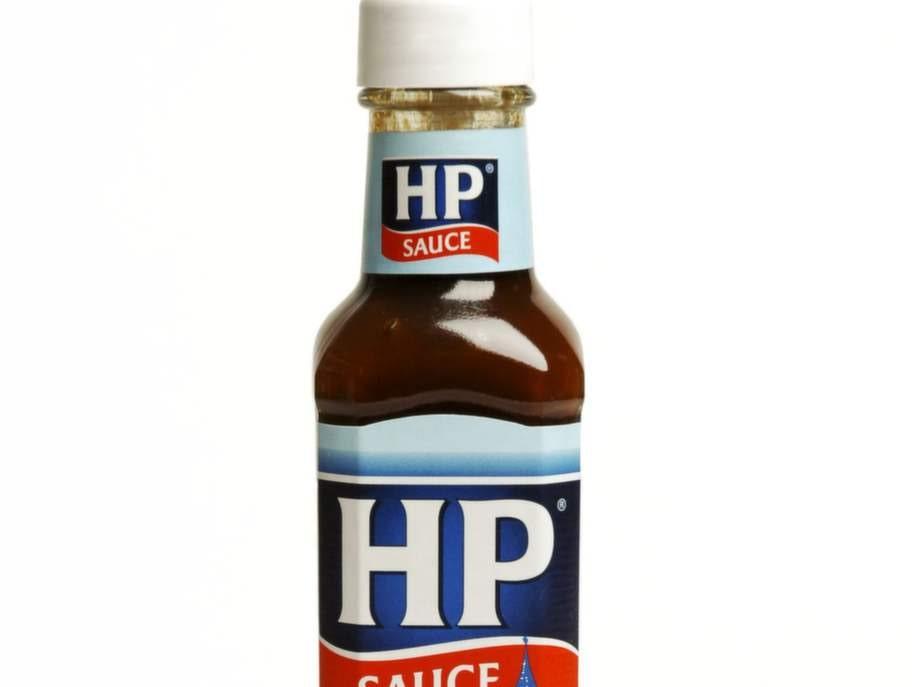 En matsked HP-sås, 1 tsk.