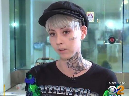 Illma Gore heter konstnären som gjort lyx-toaletten.