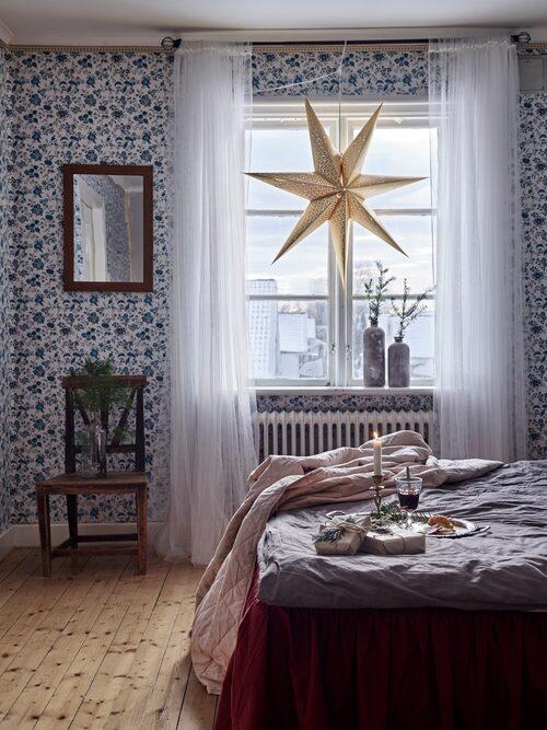 """""""I vårt hus har vi valt naturliga och mjuka färger, för en ombonad och hemtrevlig känsla."""""""