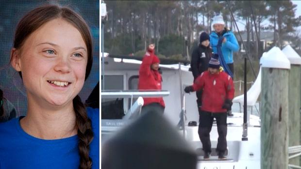 Här seglar Greta Thunberg mot Madrid