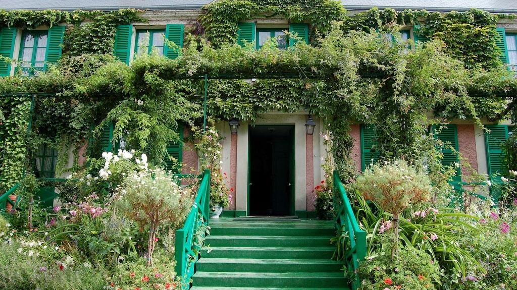 Det samma var det för impressionsmålaren Claude Monet i dne franska byn Giverny.