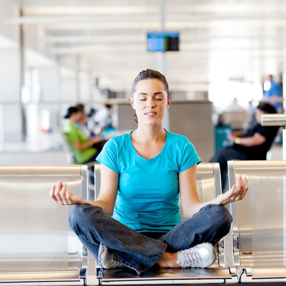 Allt behöver inte kosta pengar på flygplatsen!