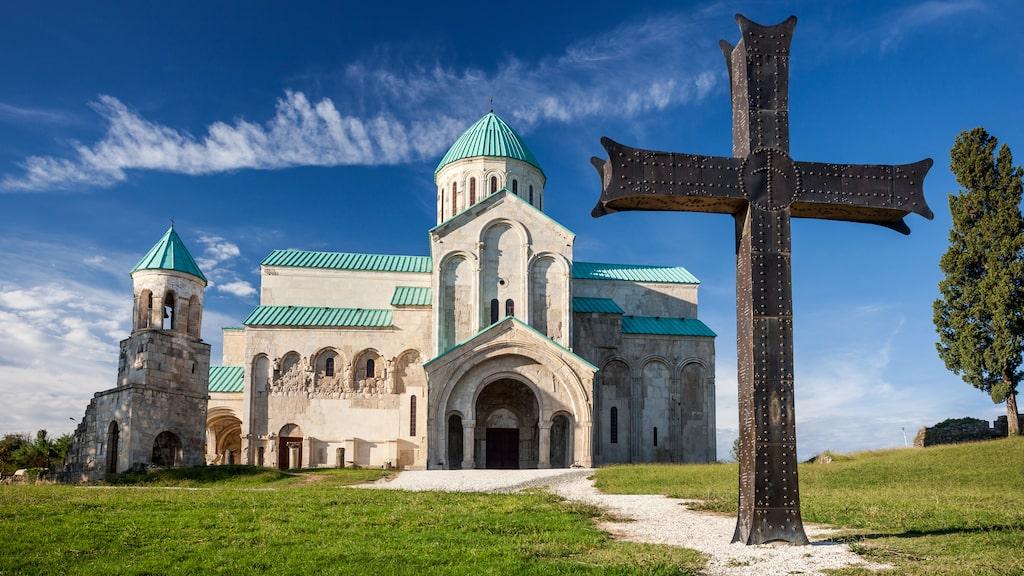 Bagrati-katedralen är ett av stadens främsta landmärken.