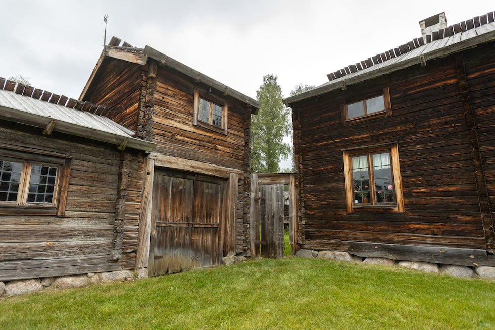 Delsbo forngård består av ett tjugotal välbevarade gårdar från olika tidsepoker i Hälsingland.