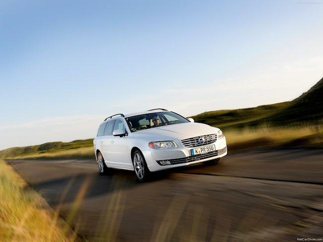 Volvo V70 är en väldigt populär begagnatbil.