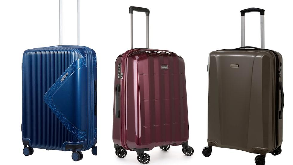 Vi jämför pris och prestanda på hårda bagageväskor.
