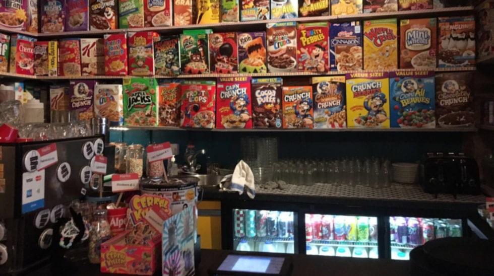 Cereal Killer Cafe.