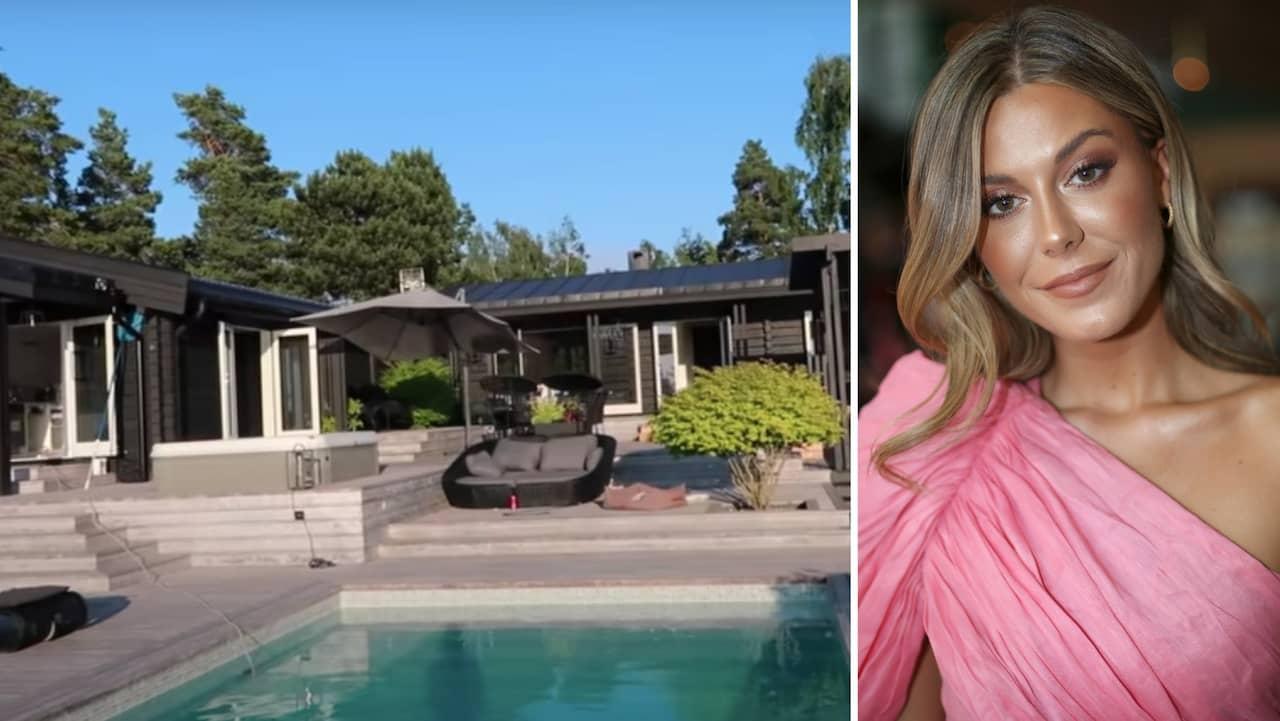 Så mycket kostar huset Bianca hyrt i sommar