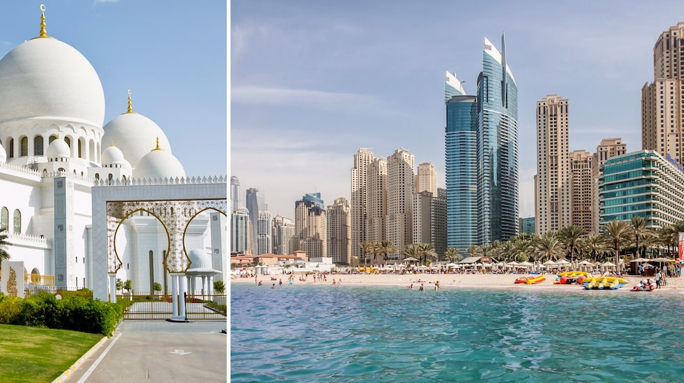 Skyskrapor, sol, sandstränder och shopping. Dubai är som ett Miami – fast mycket närmare.
