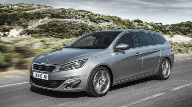 Nissan delar förstaplatsen med Peugeot.