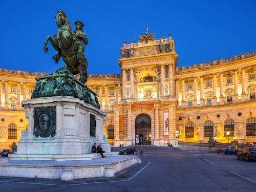 Hofburg i Wien.