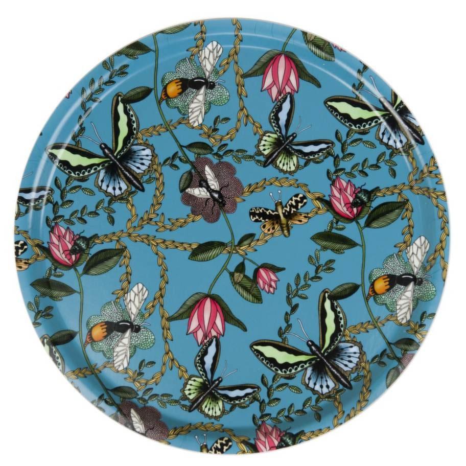 Fjärilsbricka, 65 centimeter i diameter, 1 050 kronor, Nadja Wedin.