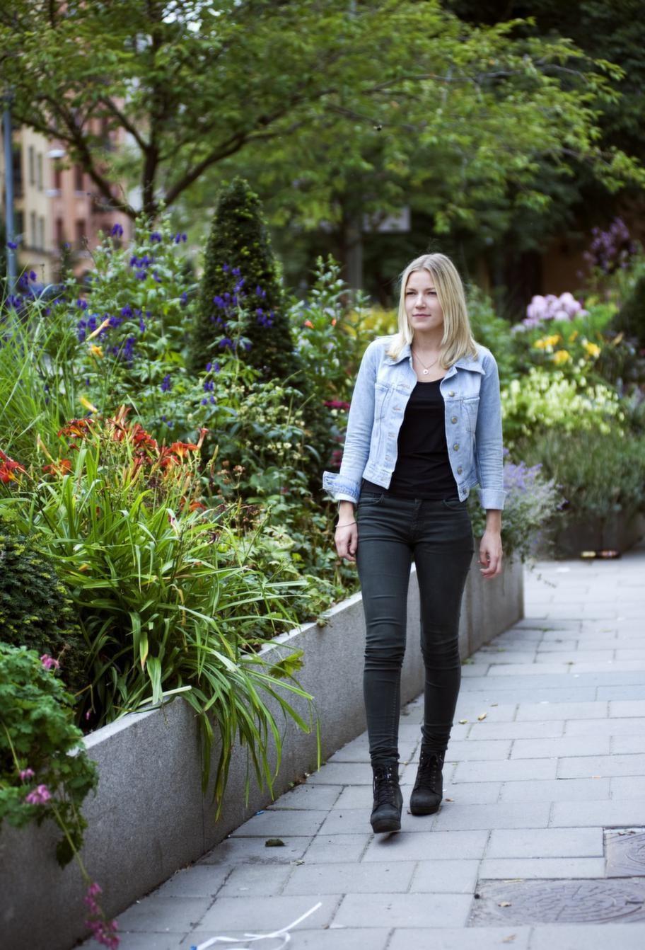 """VILL GE TILLBAKA. """"Forskning är viktigt, men det finns många saker som man behöver hjälp med som cancersjuk. Enkla saker som betyder mycket"""", säger Cathrine."""